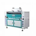 31inches hot melt gluing machine adjustable speed glue coating machine for wood