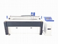 Oscillating Knife CNC Cutting Machine For Fabric Lather