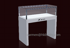 Customized White Painting Counter for fashion jewelry Store