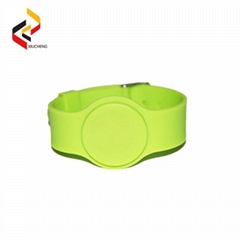 MIFARE 1K S50 RFID Silicone Wristbands