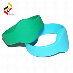 Customized NFC NTAG213 Silicone Bracelets