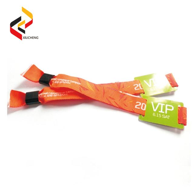 NFC NTAG213 Polyester Fabric Wristbands 3