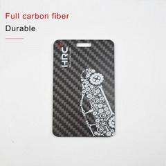 Carbon fiber l   age tag