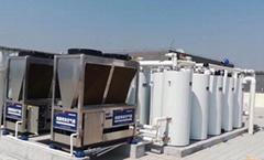 青島地區空氣源熱泵熱水工程