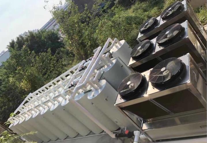 青岛地区空气源热泵热水工程 3