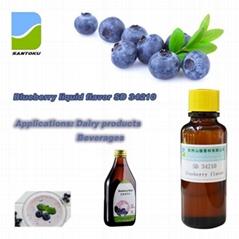蓝莓香精 SD 34210 用于乳品饮料冷饮糖果烘焙等