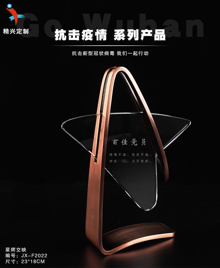 荣誉颁奖奖杯奖牌 广州水晶金属礼品厂家定制 3