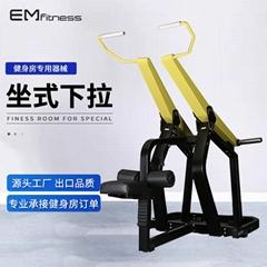 大型力量器械大黄蜂坐式下拉训练器综合训练器健身房商用健身器材