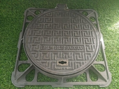 Ductile Iron Manhole Cover with Frame Class C250 D400