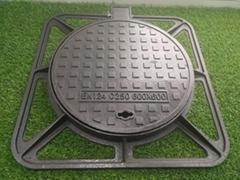 Manhole Cover Ductile Iron En124