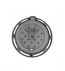 Cast Iron Manhole Cover D400