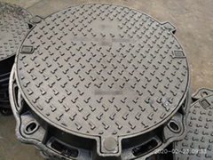 Ductile Iron Manhole Covers with Frame En124 Class C250 D400