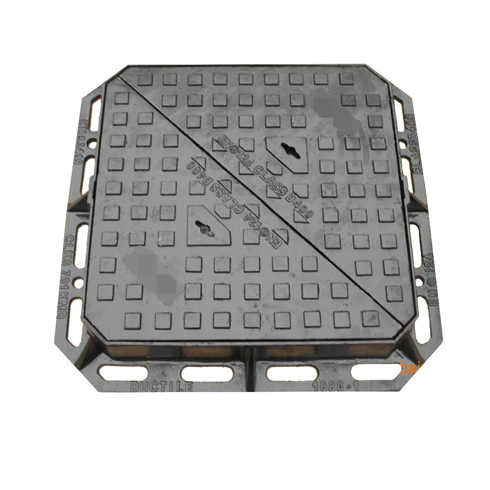 Cast Iron Manhole Cover with Frame En124