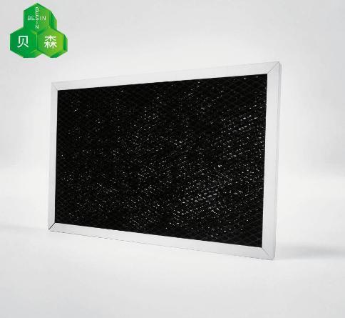 蘇州貝森鋁箔網組合加強吸附分解活性炭過濾網 1