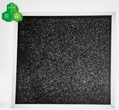 苏州贝森海绵加强吸附分解活性炭过滤网