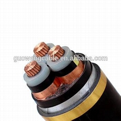 YJV32 copper conductor PVC insulated steel wire armoured PVC jacket power cable