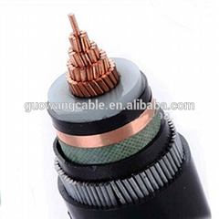Marine And Industrial Medium Voltage Copper Conductor Xlpe 11kv Power Cable Pric