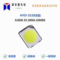 3528白光暖光自然白冷白贴片SMD光源LED3528灯珠