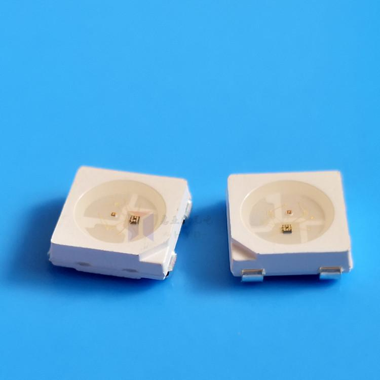 SMD5050幻彩LED灯珠内置IC全彩SK6812 WS2812 2