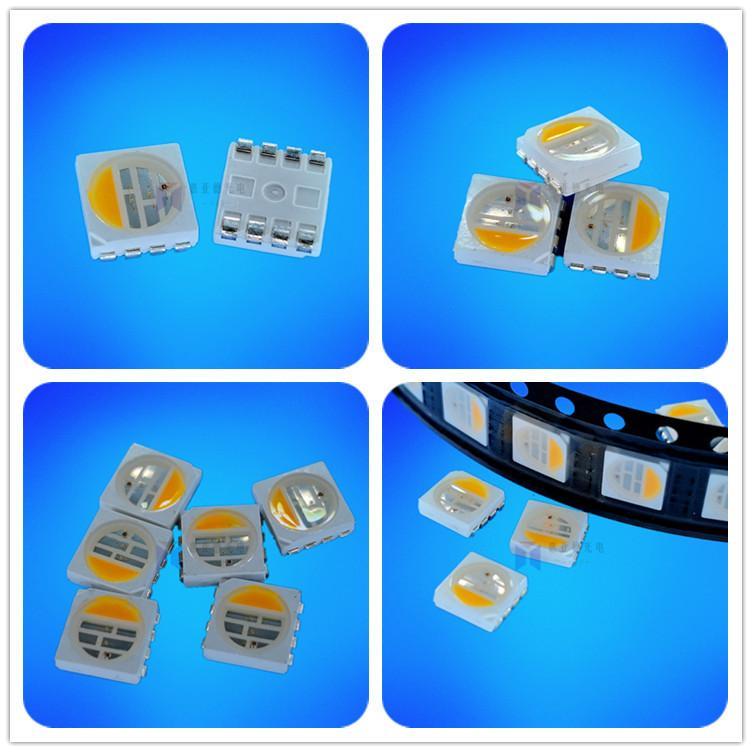 高亮5050RGBW灯珠LED四合一贴片发光二极管 2