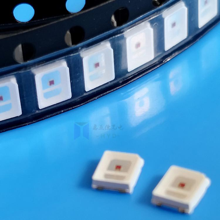 2835彩光LED2835红光蓝光绿光黄光粉红冰蓝紫光贴片灯珠 5