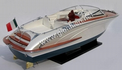 RIVARAMA PLATINUM WOODEN CRAFT BOAT - HIGH QUALITY SPEED BOAT MODEL