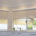 Fabric Mini Roller Blind for window decoration 17mm 4