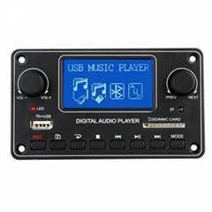 Digital Display MP3 Module Bluetooth USB SD MP3 Player Decoder Board TDM-157