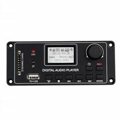 TDM-156 MP3 Player Decoder Board Digital Display MP3 Module Dot Matrix LCD