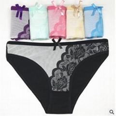 外貿全棉女士內褲 廠家直銷貨源性感女士三角褲