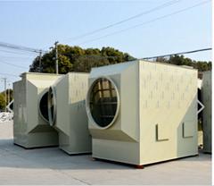 废气处理设备卧式喷淋塔