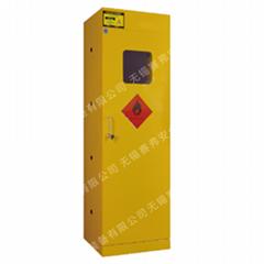 赛弗防火加装气体报警器气瓶存储柜