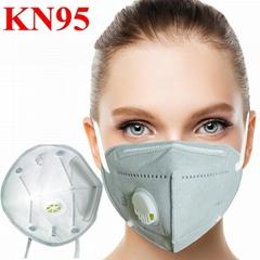 阀门杯式KN95-FFP3 口罩