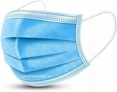 Disposable Face masks 3-Ply Non-woven Masks Protection from Dust