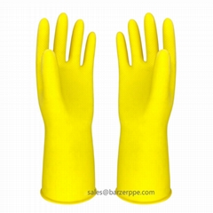 Reusable Dishwashing Latex Gloves for household cleaning powerful tools paint