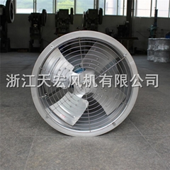 天宏DZ-I-5型不锈钢轴流风机 304不锈钢管道轴流风机