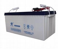 歐力特12v100ah膠體路燈太陽能蓄電池