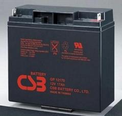 CSB蓄電池GP121000太陽能應急UPS電源
