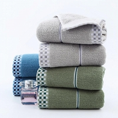 Beach Towel 100% Cotton Towel Pure Cotton Bath Towel China Supplier