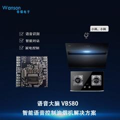 离线语音识别芯片ic 智能语音控制油烟机解决方案