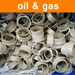 PEEK Parts in Oil Gas Petrochemical Industry Part Components Fittings Electronic