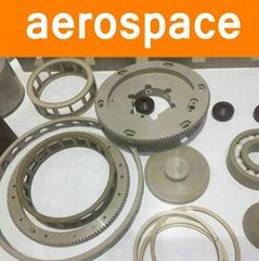 PEEK Parts Components for Aerospace Statellites Rockets CNC Making