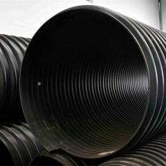 HDPE鋼帶管增強纏繞管好管道