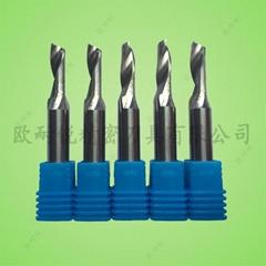 进口钨钢铝用单刃铣刀 铝材切割刀 铜铝镂空雕刻单刃刀 铝用刀