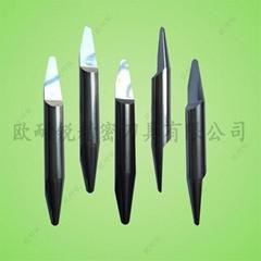 鎢鋼雙頭球底尖刀 鋁板門花浮雕刀