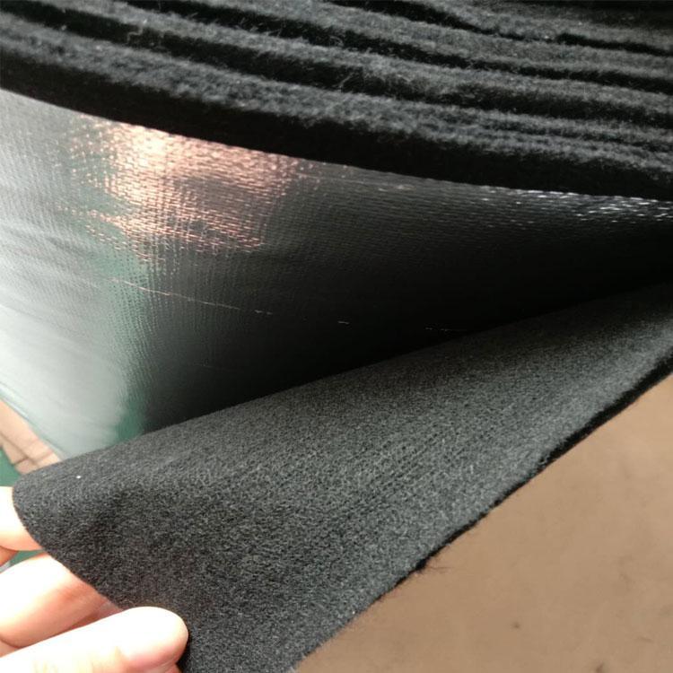 耐高溫黑色預氧絲無紡布碳纖維毛氈 2