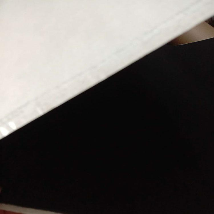 耐高溫黑色預氧絲無紡布碳纖維毛氈 5