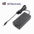 Factory wholesale 65 watts IP22 medical adapter black desktop power adapter