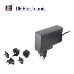 24W插牆式多國插頭醫療電源適配器符合六級能效