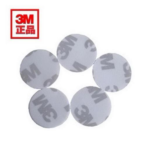 3M双面胶圆形方形胶贴 4